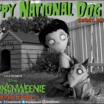 Disney Frankenweenie: National Dog Day Harris Says WOOF Thanks!