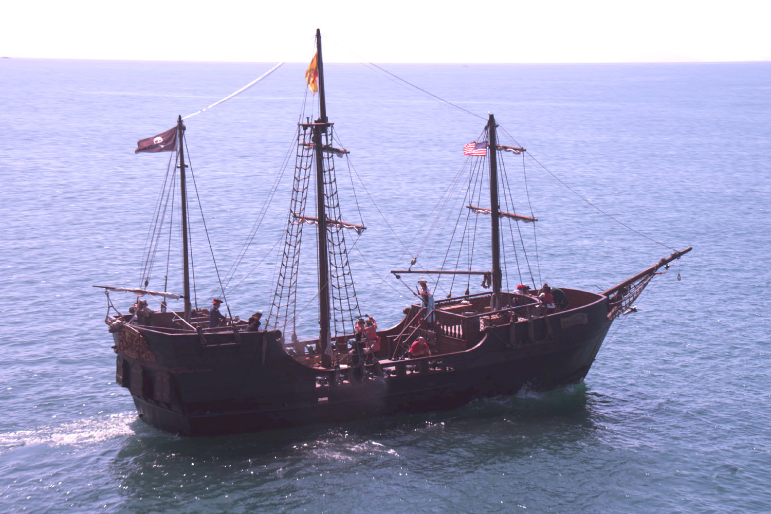 Grandma Juice Travels San Diego Pirate Ship Adventures At Sea