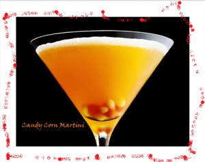 candy corn fall cocktail