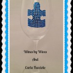 Wines By Wives Carla Facciolo Autism Charity Glass Giveaway