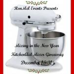 KitchenAid Stand Mixer Giveaway Mixing In The New Year Sign-Ups Open!