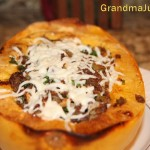Sausage Stuffed Squash Recipe Good Fall & Holiday Eating