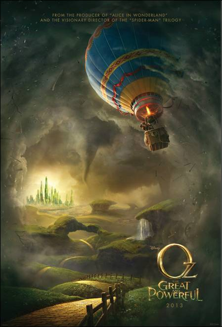 Disney Movie List Oz The Great and Powerful