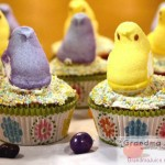PEEPS! Lemon Cupcakes With Cream Cheese Frosting Easter Dessert Recipe