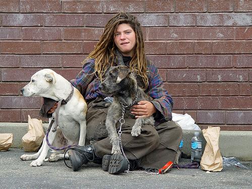 Homeless People Las Vegas