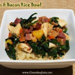 Bacon and Chicken Bowl Recipe with Brown Rice Success Every Time!