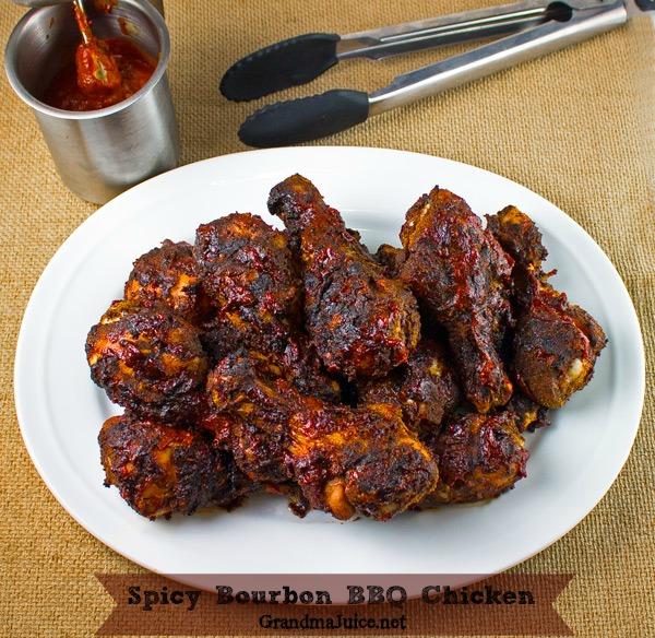 Bourbon BBQ Chicken Bobby Flay Grill Recipe