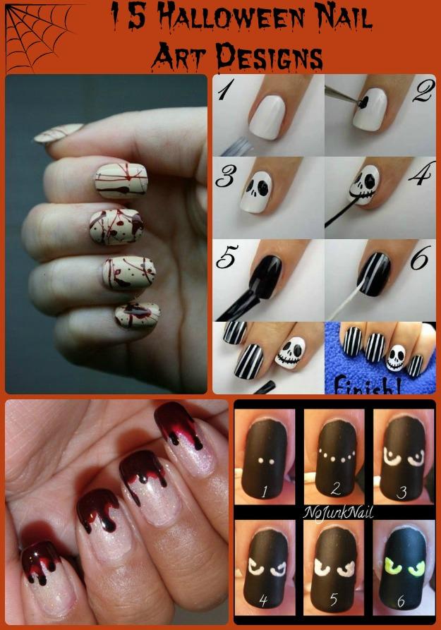 Halloween nail art designs pics photos halloween nail art design cool halloween nail art ideas and design view images prinsesfo Choice Image