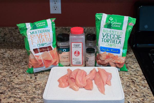 Baked Chicken Fingers | Grandma Juice Blog