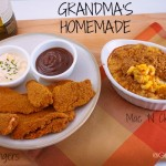 Baked Chicken Fingers & Homemade Mac and Cheese | Grandma Juice Blog
