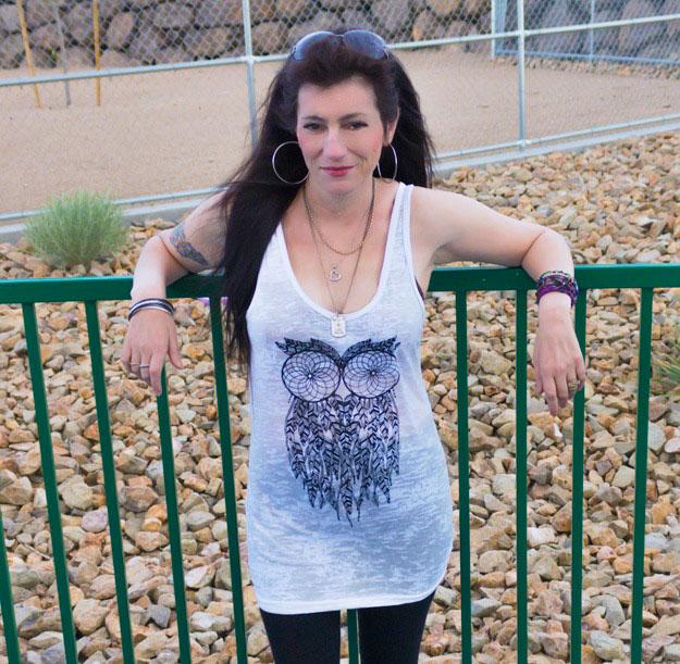 Fall Fashion Owl Tank   Grandma Juice Blog