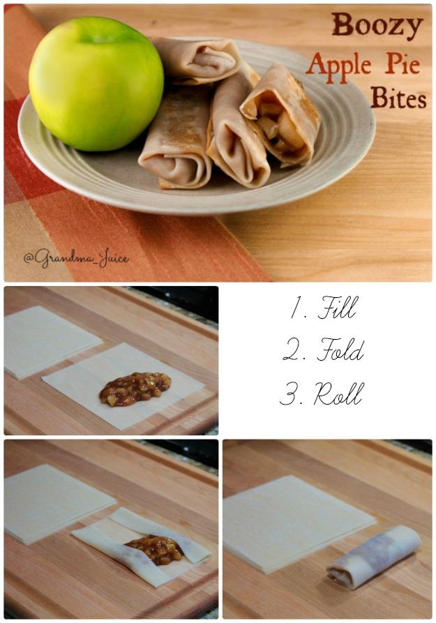 Apple Pie Recipe Roll Up Bites   Grandma Juice Blog