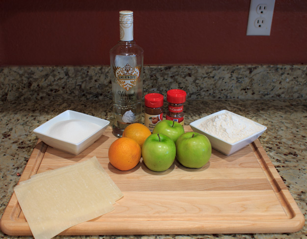 Boozy Apple Pie Recipe Ingredients