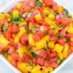 Spicy Watermelon Salsa Recipe | Grandma Juice Blog