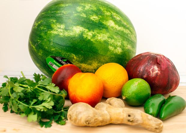 Watermelon Salsa Recipe Ingredients   Grandma Juice Blog